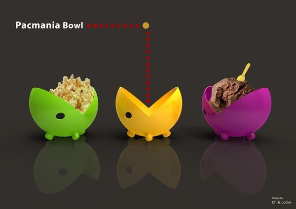 Cool pacman bowls products i love pinterest for Coool stuff com