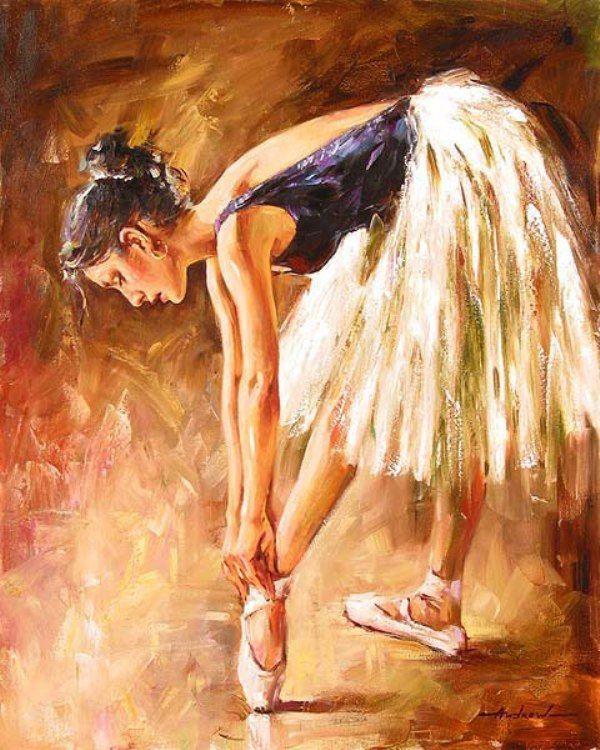 ballerina by andrew atroshenko art pinterest