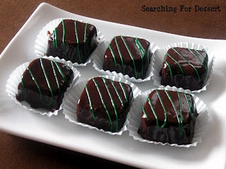 Brownie petit fours | Treats for the Sweet Tooth | Pinterest