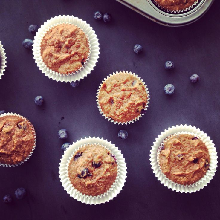 The Perfect Blueberry Muffins *paleo* | Food - Breads (and Muffins to ...