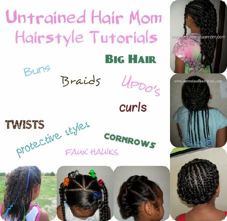 Cute easy hairstyle tutorials for kids cyniah s crown pinterest
