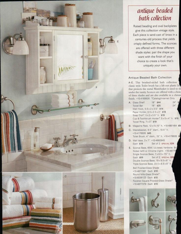 pottery barn bathroom cabinet bathrooms pinterest