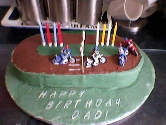 Speedway cake Food Pinterest