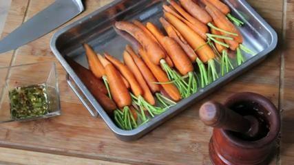 AVOCADO, ORANGE AND CARROT SALAD recipe - COUKiNE blog