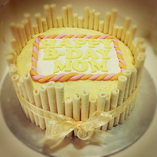 Lychee Butter Cake with Lychee Icing