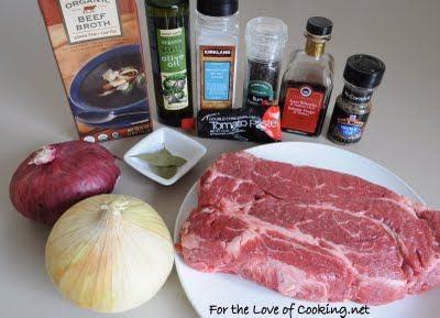For the Love of Cooking » Balsamic and Onion Pot Roast