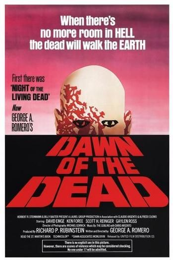 Original DAWN OF THE DEAD poster. | Classic Cinema | Pinterest
