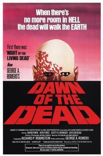 Original DAWN OF THE DEAD poster. | Classic Cinema | Pinterest