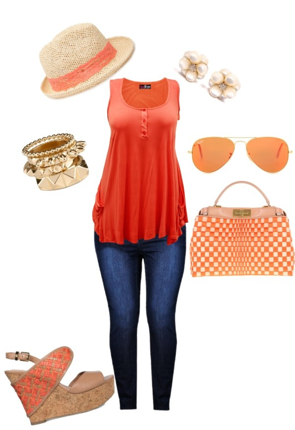Salmon Love by abailey-i on Polyvore