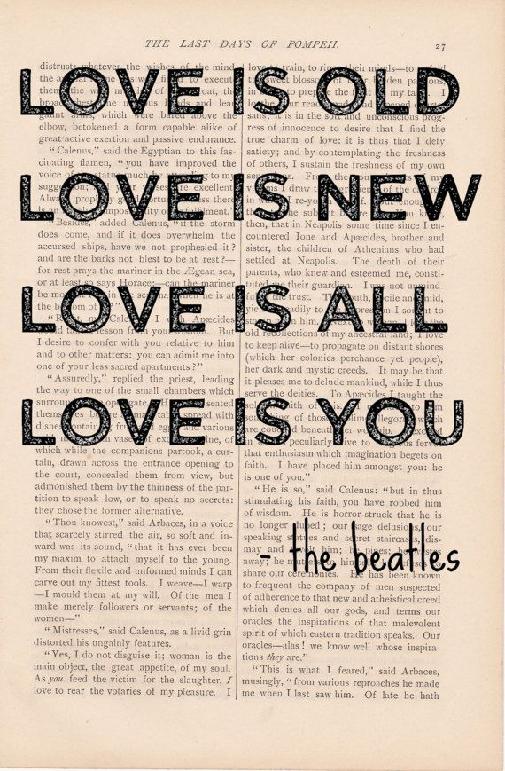 LOVE IS... the Beatles