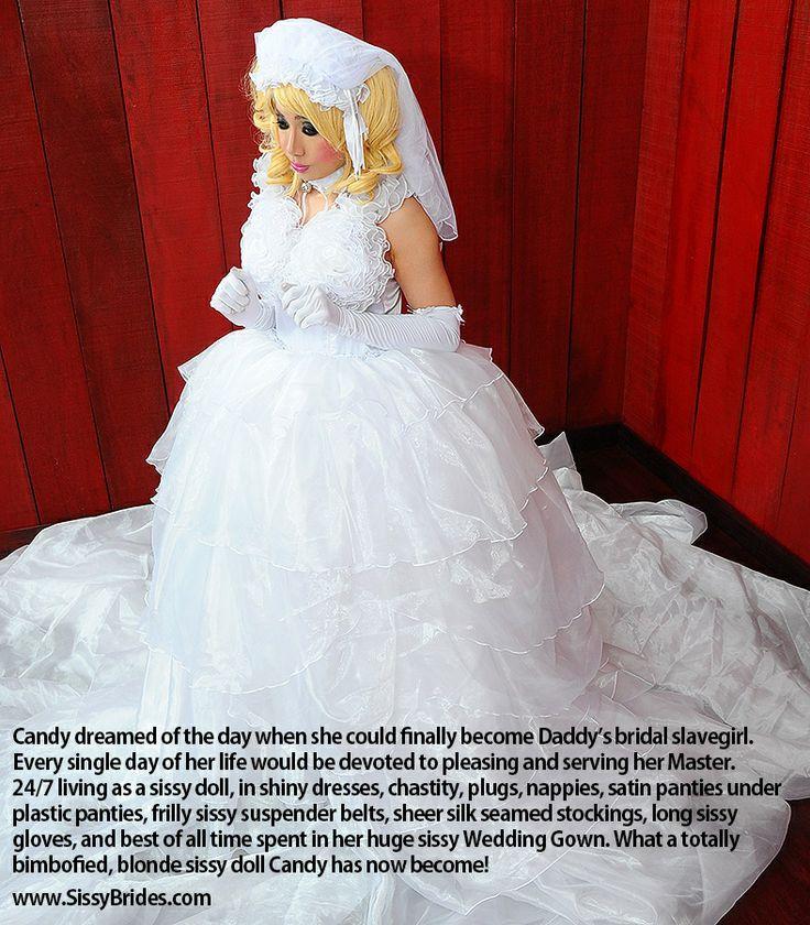 shy sissy bride