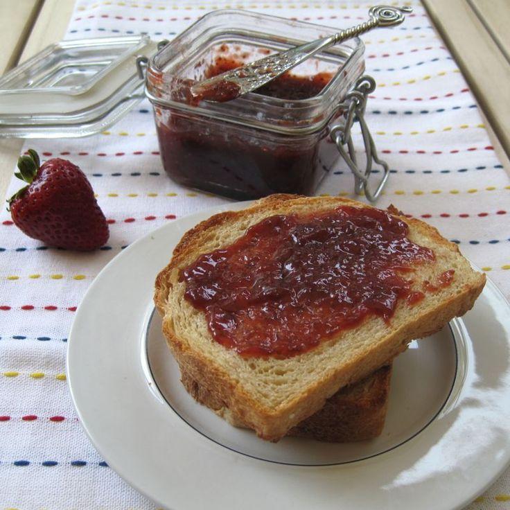 Strawberry Balsamic Jam | Canning Stuff | Pinterest