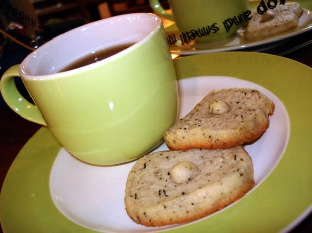 Earl Grey Tea Cookies... they're even better made with Pumpkin Chai ...