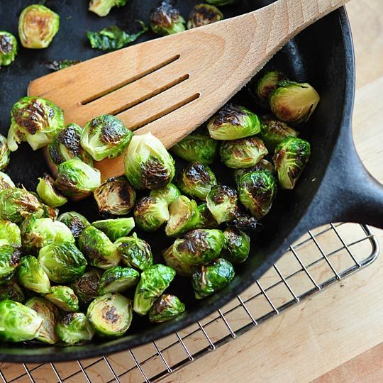 Roasted Brussels Sprouts from The Kitchn. http://punchfork.com/recipe ...