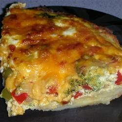 "Broccoli Quiche with Mashed Potato Crust | ""This a great recipe! My ..."
