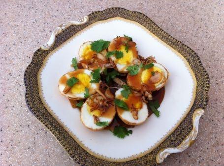Thai Son-in-Law eggs from @Nancie Stover-Nicholson McDermott