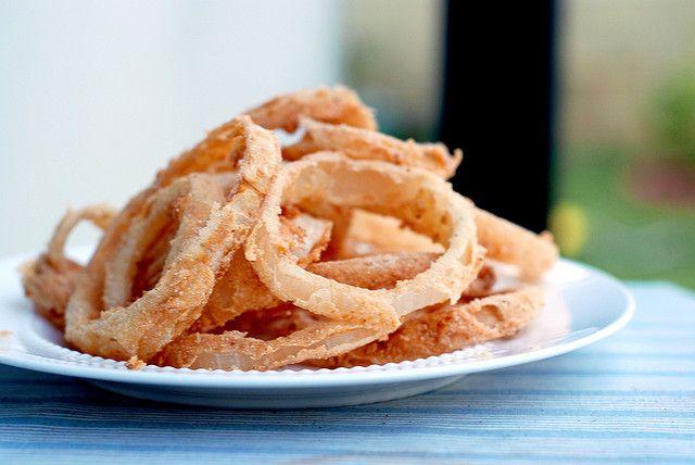 Gluten Free Onion Rings | totally gluten free | Pinterest