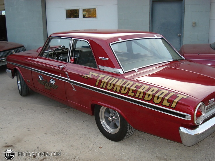 Ford Certified Pre Owned >> 64 Ford fairlane thunderbolt