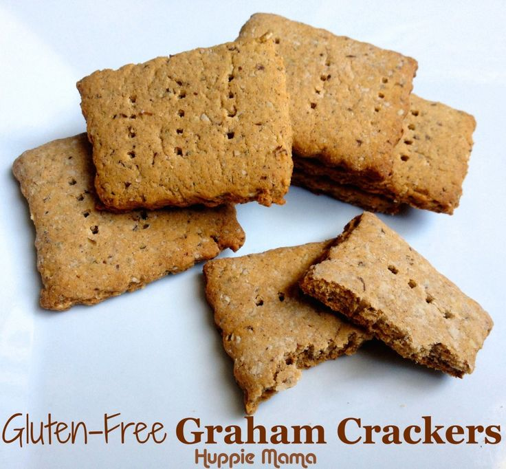 Gluten Free Graham Crackers | My Original Recipes | Pinterest