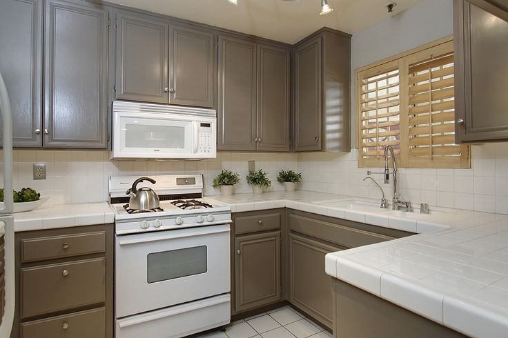 Cabinet color Benjamin Moore  Rockport Gray   kitchen  Pinterest