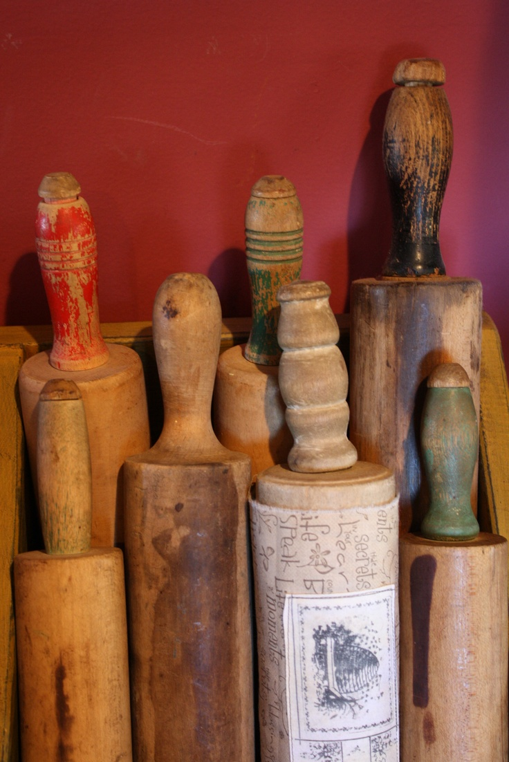my rolling pin collection