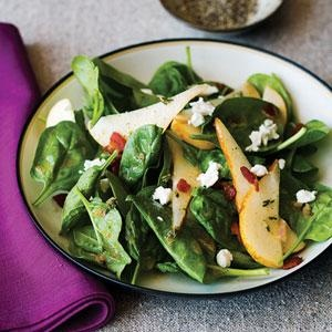 Spinach, Pear, and Pancetta Salad - Recipes | American Family