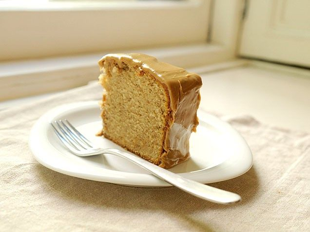 Faulknerian Family Spice Cake with Caramel Icing- shortening in cake ...