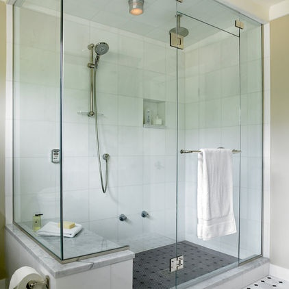 Steam Shower With Bench For T Bathroom Designs Pinterest