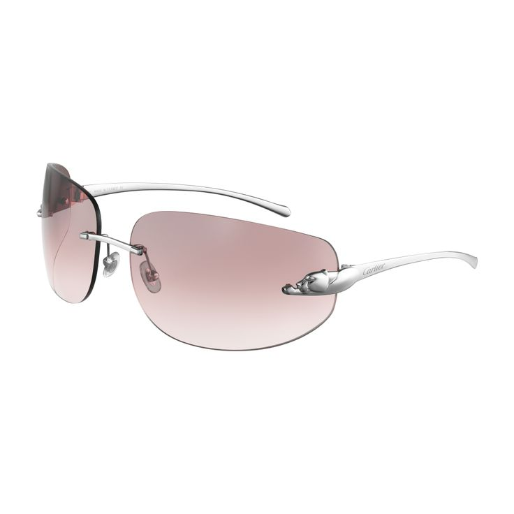 Cartier Rimless Glasses : Panthere de Cartier rimless sunglasses *** My personal ...