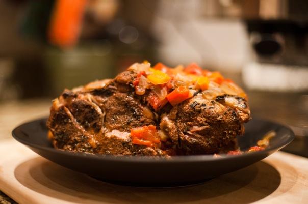 Slow-Roasted Pork Shoulder} | Recipes | Pinterest