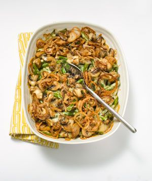 Tackling this Creamy Green Bean Casserole with Fried Shallots this ...