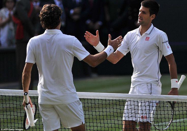 An excellent final between two very talented tennis players! #Wimbledon2014 #Djokovic #Federer