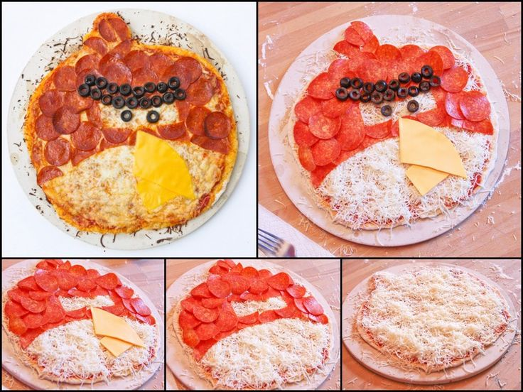 Do It Yourself: Angry Birds Pizza #DIY