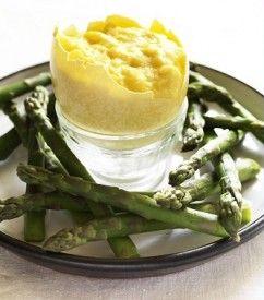 Scrambled rhea egg with asparagus | Eggs | Pinterest
