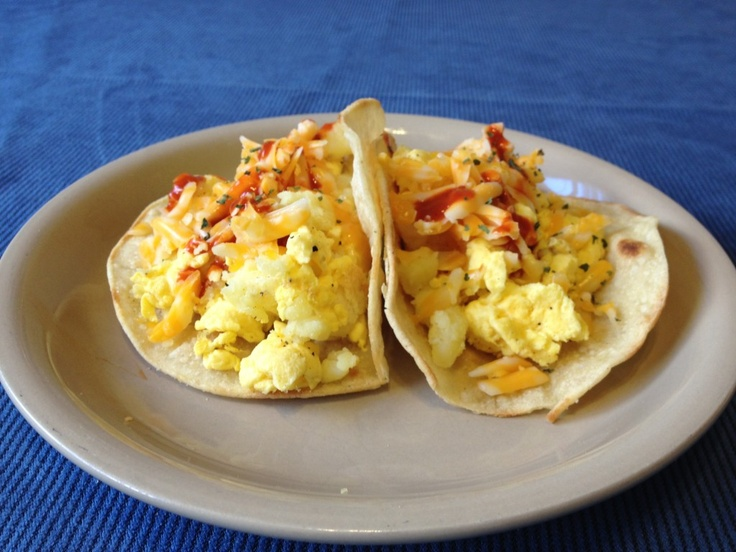 Egg & Tater Breakfast Tacos Recipe — Dishmaps