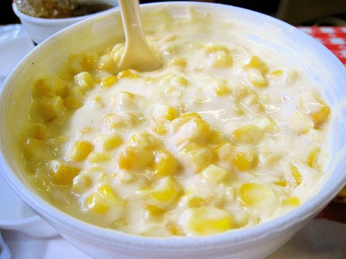 Creamed corn recipe. Great recipe for Thanksgiving.