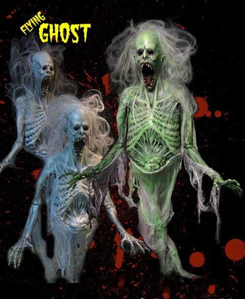 the flying ghost halloween prop mr bone jangles pinterest. Black Bedroom Furniture Sets. Home Design Ideas