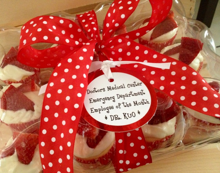 Employee of the month sweet treat gift ideas pinterest