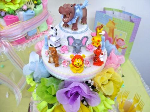 Hippo Diaper Cake Topper!!!