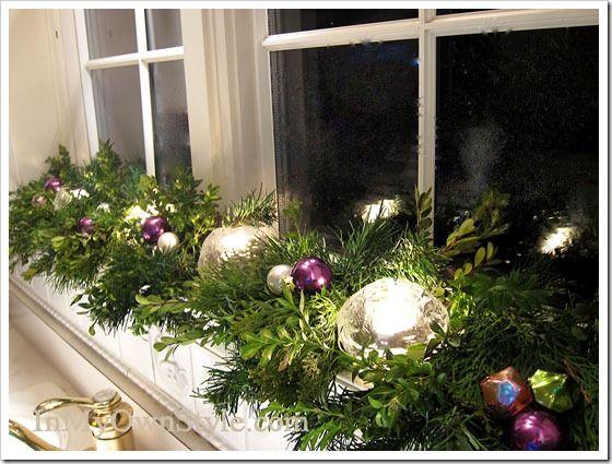 christmas decorating house tour. Black Bedroom Furniture Sets. Home Design Ideas