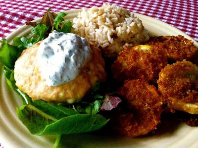 ... Recipes From Alice's Kitchen: Salmon Burgers with Yogurt-Dill Sauce