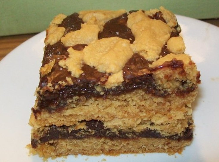 Peanut Butter Fudgy Brownies | Recipes I want to try | Pinterest