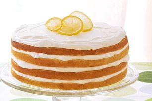 ... 2013 / Always 2nd weekend in August): Triple-Lemon Layer Cake recipe
