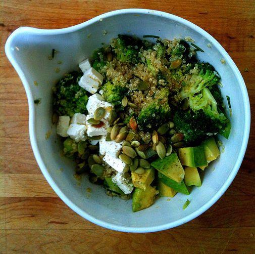 Lemony Quinoa Broccoli Salad | Recipe