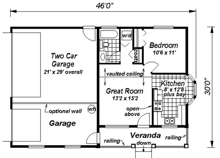 Mother in law suite adorable ideas for a house for Garage suite plans