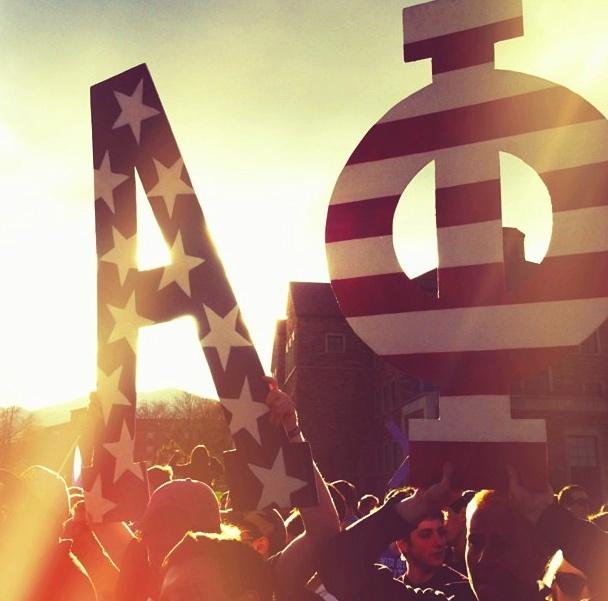 Alpha Phi letters-Boulder, CO Alpha Phi | Alpha Phi | Pinterest