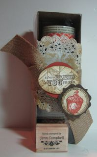 Life box and tag bundle truly grateful best of greetings doilies