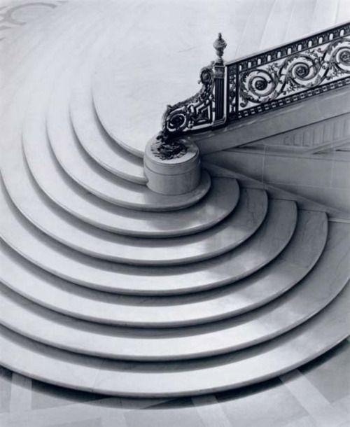 Paul Caponigro    Spiral Staircase, San Francisco, California   1953