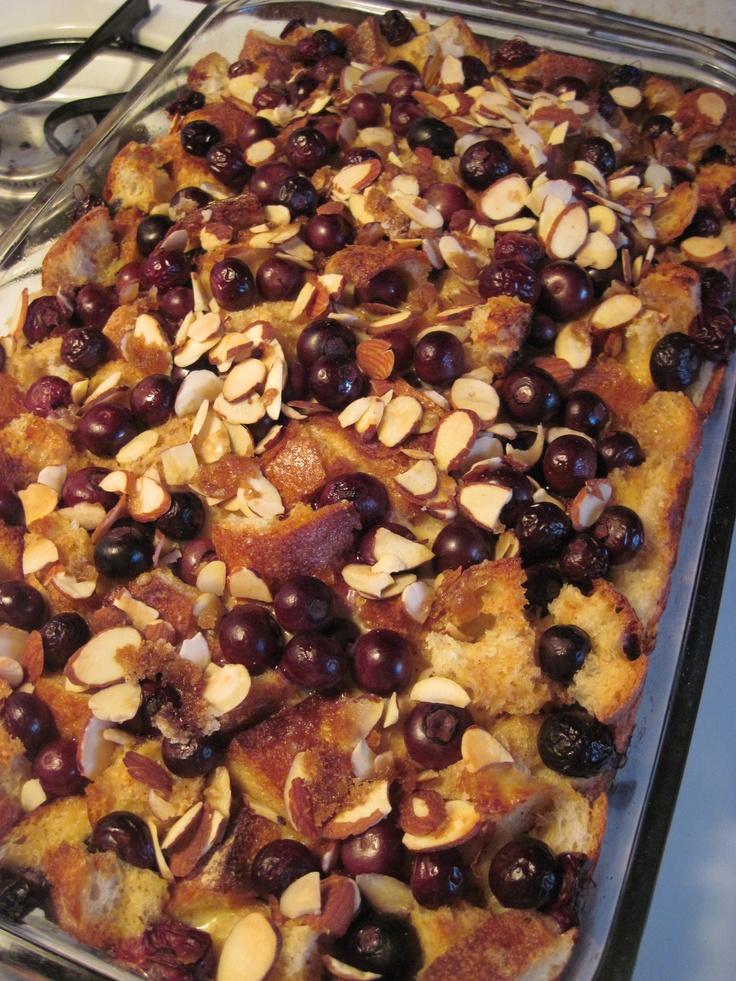 Ellie Krieger's Blueberry Almond French Toast Bake | Ellie Krieger ...