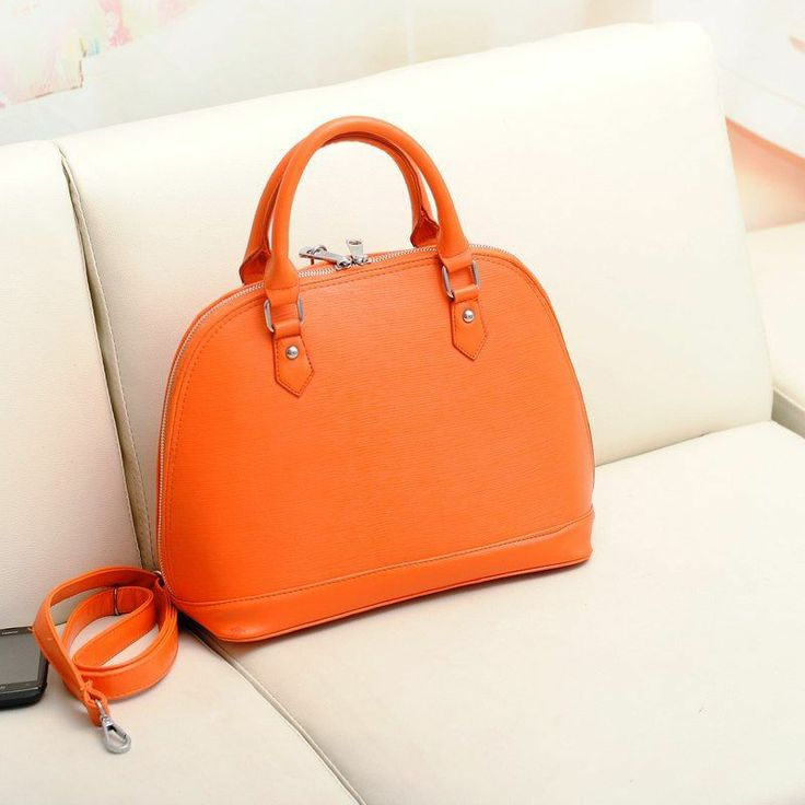orange bag | Beauty | Pinterest